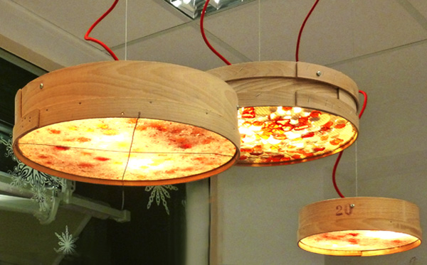 Creative pendant lamps