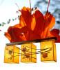 Φωτιστικό σαλονιού τραπεζαρίας με φύλλα κρεμαστό