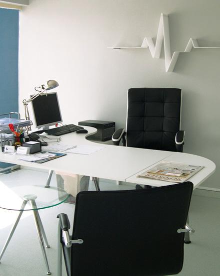 Εσωτερική διακόσμηση γραφείου ιατρείου