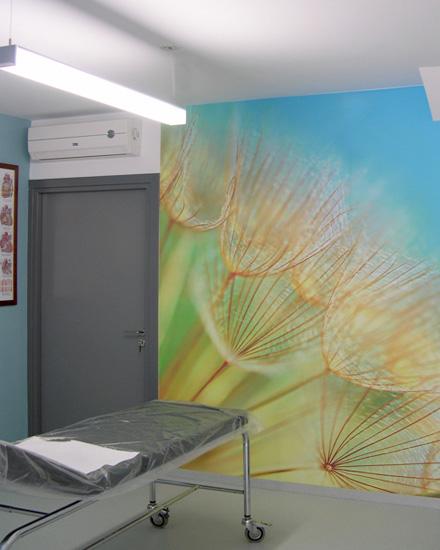 Εσωτερική διαμόρφωση διακόσμηση εξεταστήριο