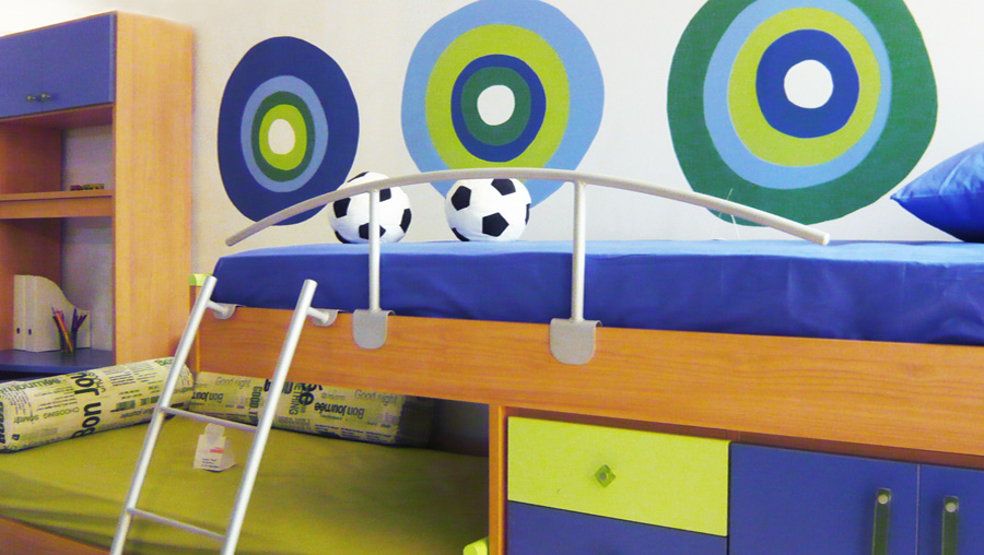 Kids furniture store decoration