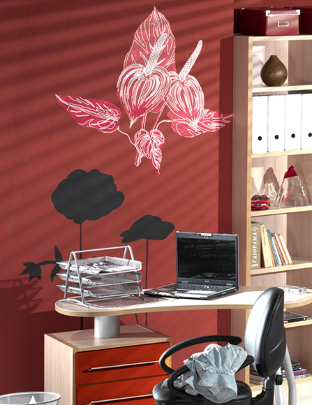 Kids furniture store wall decoration