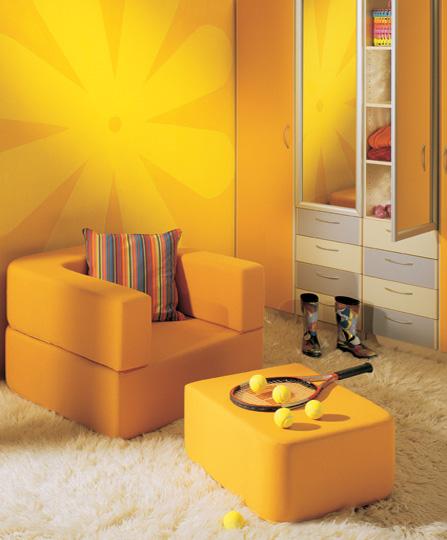 Χρώματα παιδικό δωμάτιο ιδέες