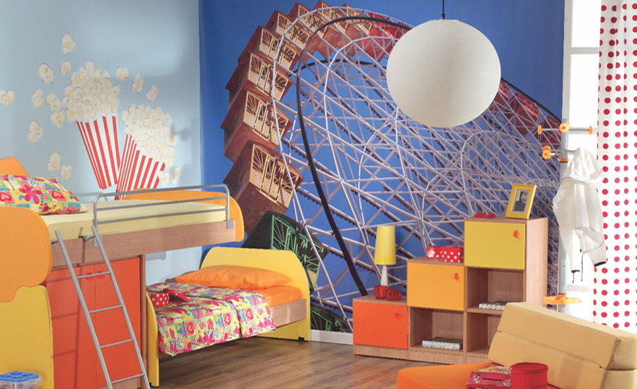 Children room photo wallpaper