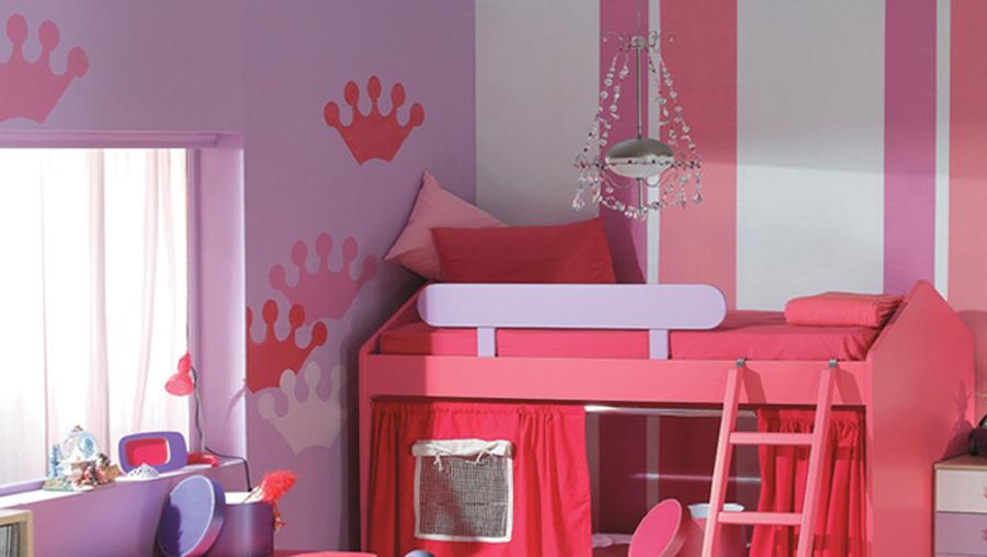 Δωμάτιο παιδικό κορίτσι διακόσμηση