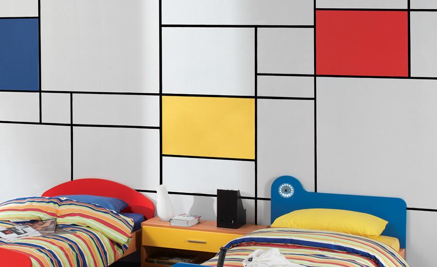 Παιδικό δωμάτιο ζωγραφική τοίχου