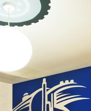 Δωμάτιο παιδικό ιδέες διακόσμηση τοίχος