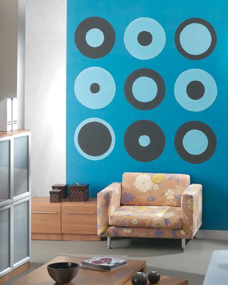 Σαλόνι καθιστικό ιδέες διακόσμηση τοίχου
