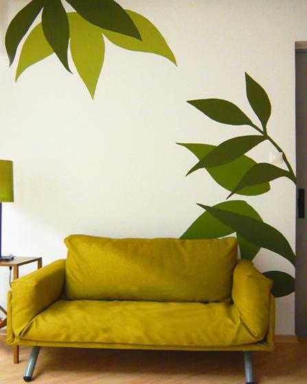 Τοίχος ιδέες καθιστικό χρώμα