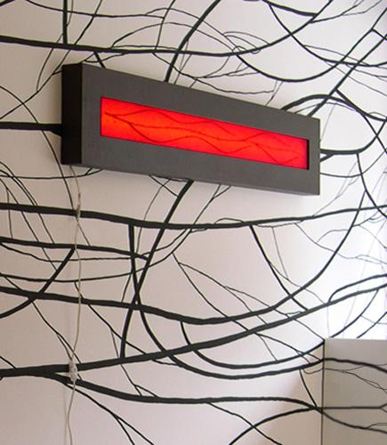 Φωτιστικό διακοσμητικό τοίχου πίνακας