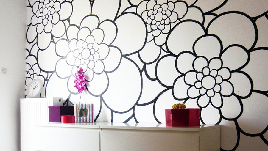 Διακόσμηση κρεβατοκάμαρα τοίχος χρώμα