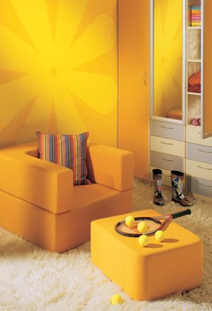 Αυτοκόλλητα παιδικού δωματίου για κορίτσια