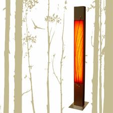 Φωτιστικό δαπέδου κόκκινο