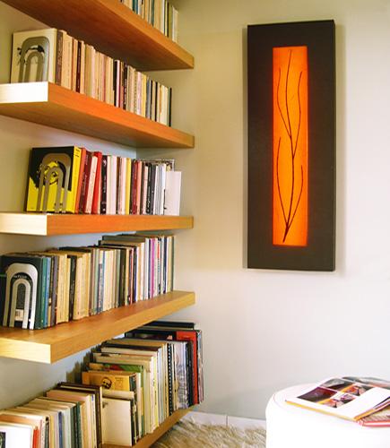 Φωτιστικό τοίχου διακοσμητικός πίνακας