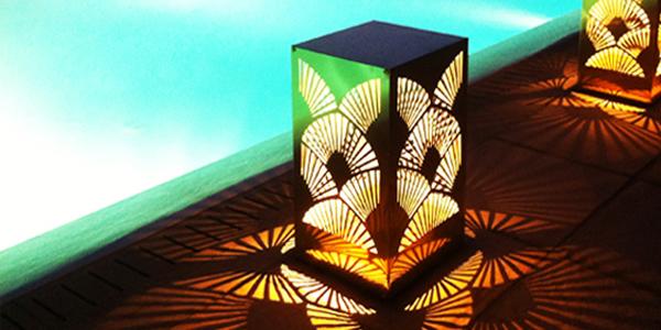 Διακοσμητικά φωτιστικά εσωτερικού εξωτερικού χώρου